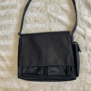 Danier Vintage Leather Shoulder Bag